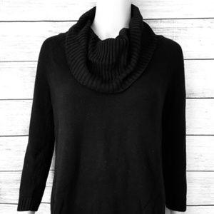 INC International Concepts Black Sweater